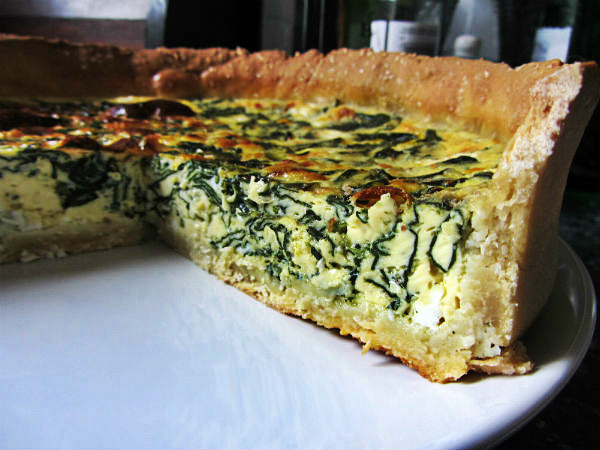 Quiche Spinach 1.1