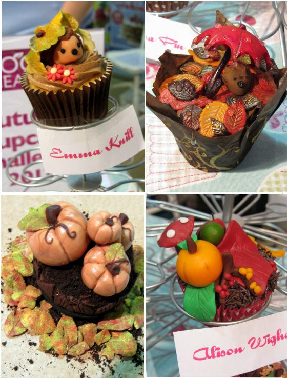 Montage cupcakes