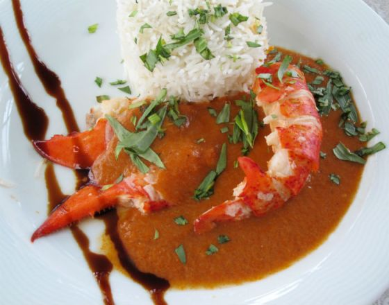 Lobster a l'Armoricaine - another Christmas recipe