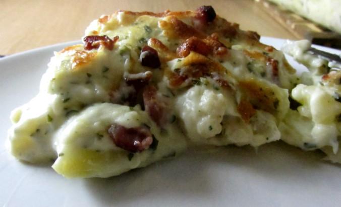 Cauliflower gratin 1